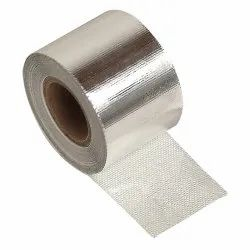 Silver Aluminum Glass Tape