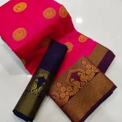 Banarsi Morni Saree