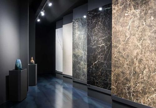Glossy Rectangular Nexion Slabs, For Flooring, La Cera Mall Private Limited  | ID: 20123784912
