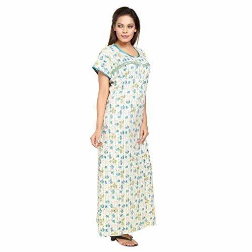 5916f0fc9 Ladies Cotton Nighty at Rs 240  piece