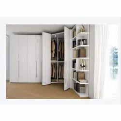 Wooden Designer U Shape Wardrobe
