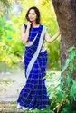 Cotton Silk Check Saree