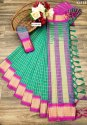 Cotton Silk Designer Saree