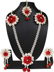 Red Flower Artificial Jewellery