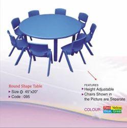Nursery Plastic Round Table