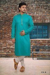 Designer Cotton Kurta Pyjama