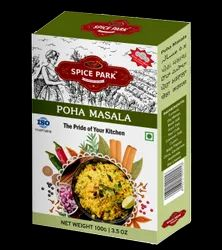 Spice Park Branded Spices :- Poha Masala, Packaging Size: 100 G, Packaging Type: Packets