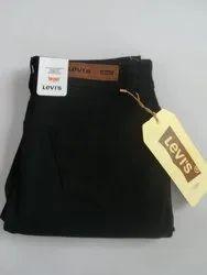 Black Zipper Girls Jeans