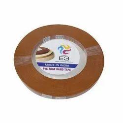 Pvc E3 Brown Edge Banding Tape, Packaging Type: Roll