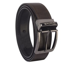 Branded Walrus  Leather Belt with 6 Month Warranty