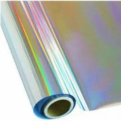 Holographic Aluminum Foil