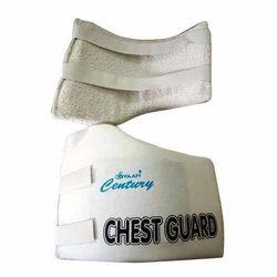 White Svaan Chest Guard