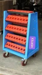 Vertex Cnc Tool Holder Trolley For Bt 40, 50 Or 30