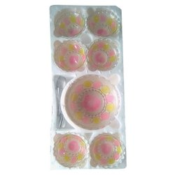 Thermocol Box Pudding Set With Lamination, Size: 125 Gm-500 Gm