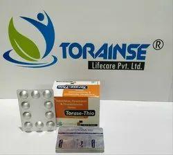 Aceclofenac 100mg Paracetamol 325mg Thiocolcicoside 4mg