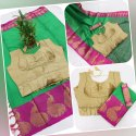 Cotton Silk Jacquard Saree