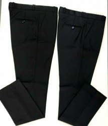 Polo Fit And Regular Fit Mens Office Wear Cotton Plain Trouser, 36 TO 44 SIZE