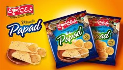 Papad Zipper Pouch