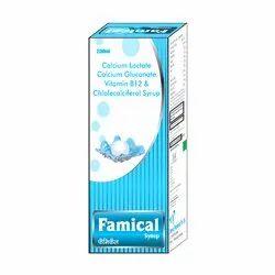 Calcium Loctate Calcium Gluconate Vitamin B12 & Chlolecal