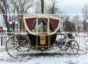 Victorian Brougham Horse Drawn Carriage