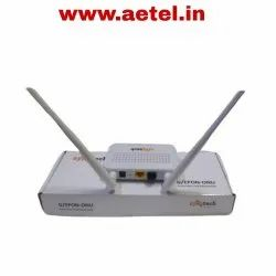 White Wireless or Wi-Fi Syrotech 1g Onu Wifi Router