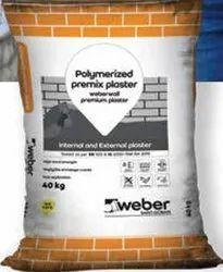 Saint Gobain Weber Wall Premium Plaster, Grade Standard: a Grade, Packaging Type: 40 Kg Laminated Flexo Bag
