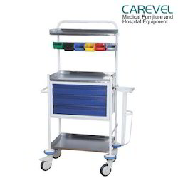 Carevel Mild Steel Crash Cart