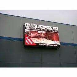 Rectangle Advertising LED Display Screen