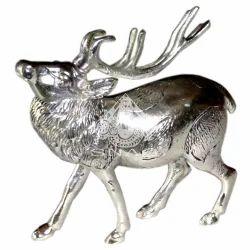 White Metal Deer