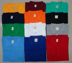 Men Solid Polo T Shirt