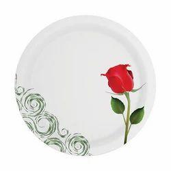 Red Rose Sonata Melamine Plate