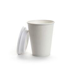White Paper 250 Ml Plain Disposable Cup