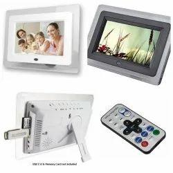 White Plastic Digital Picture Frame