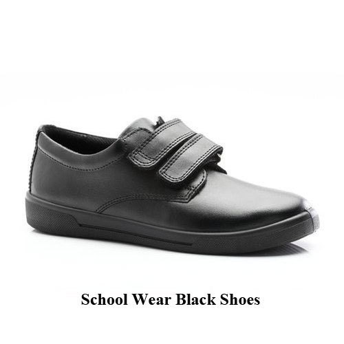large discount hot new products latest fashion Leather Velcro School Shoes