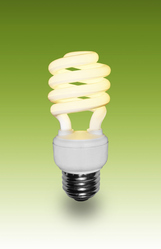 Chrome CFL LED Bulb, 6 W - 10 W