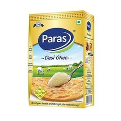 Paras Pure Ghee, Yellow, Packaging Types: Box