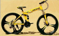Land Rover Foldable Cycle