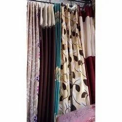Plain and Printed Designer Window Curtain, Packaging Type: Plastic Packet