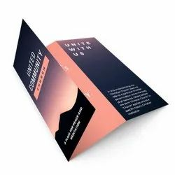 Advertising Paper Corporate Brochure, Size: A5
