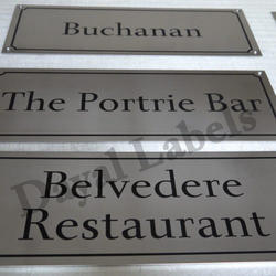 Stainless Steel Nameplates