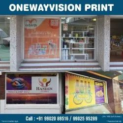 SAV One Way Vision Print, in South India