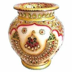 Oxidized Decorative Kalash Pot