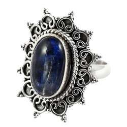 Passion Kyanite 925 Sterling Silver Rings