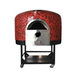 Red And Black Wood Fired Pizza
