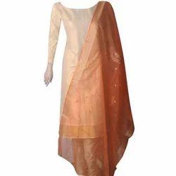 Party Wear Traditional Tissue Silk Salwar Kameez