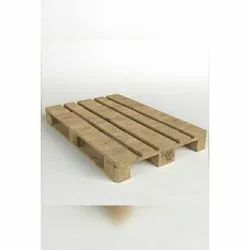 2 Way Skids Wooden Pallet, For Shipping, Capacity: 100-200 Kg