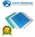 Transparent FRP Roof Sheet