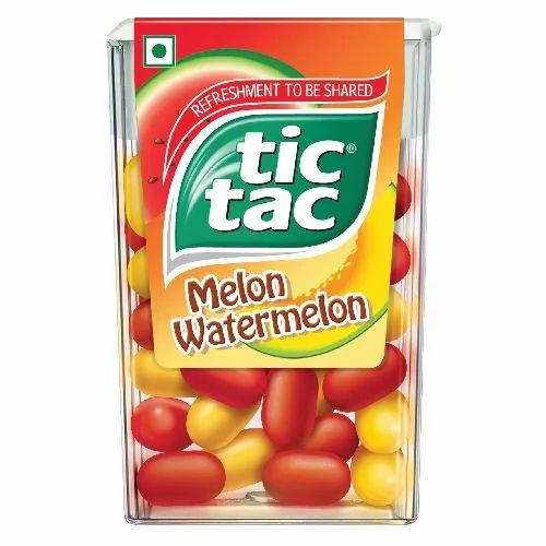 Tic Tac Melon Watermelon, Mukhwas - Ferrero India Private Limited ...