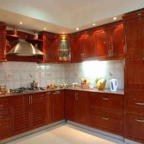 Brown Modular Kitchen Cabinet, Rs 10000 /running Feet
