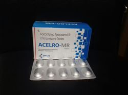 Aceclofenac ,Paracetamol and Chloroxazone Tablets